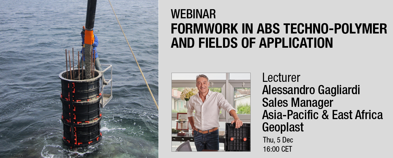 Geoplast webinar ABS formwork