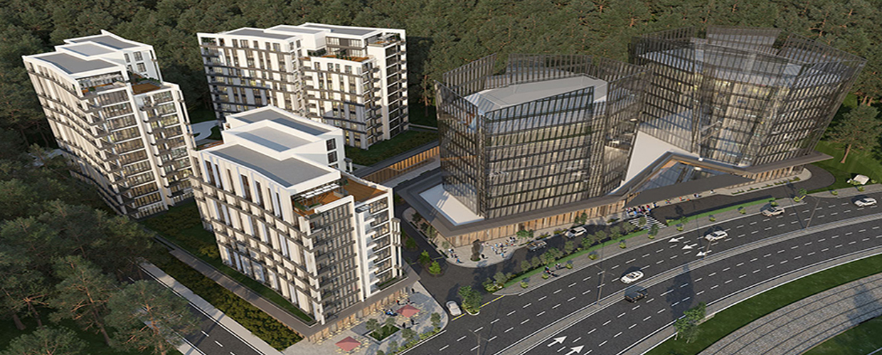 Vadikoru residential and business complex in Istanbul, Turkey
