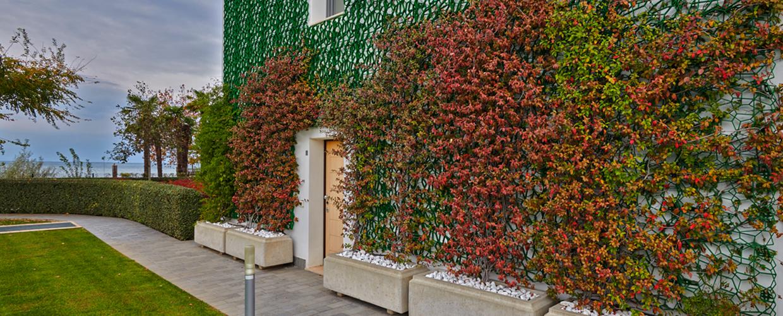 Green facades Borgo Gasparina