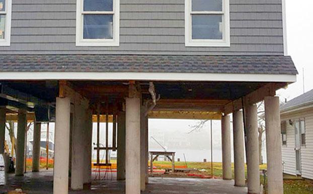 Geoplast Hurricane proof building