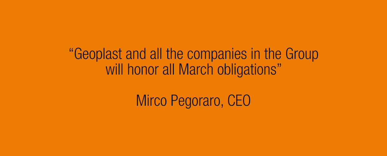 Mirco Pegoraro, March 2020