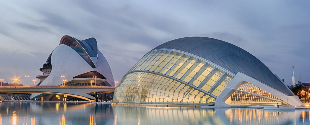 Geoplast, Modulo, City of Arts and Sciences, Valencia, Spain
