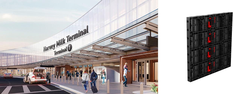 Terminal 1 Center, Internationaler Flughafen San Francisco