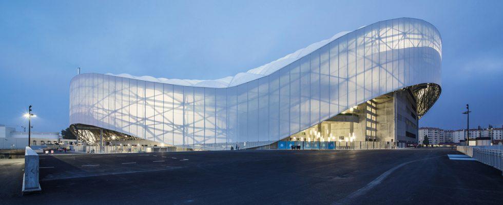 Velodrome Stadium, Marseille, Geoplast, Geotub