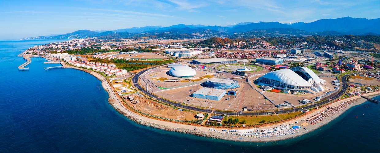 Geoplast Geotub Fisht Stadium, Sochi, Russia