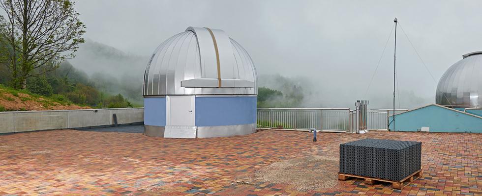 Geoplast, Geocell, Marana Observatory, Crespadoro, Italy