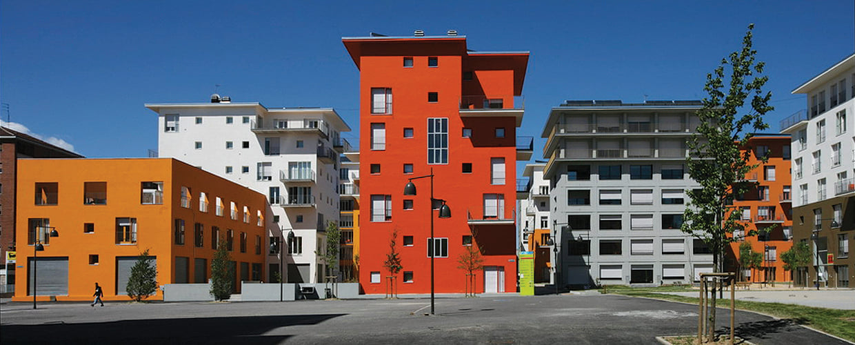 Geoplast, Modulo, Olympic Village, Turin, Italy