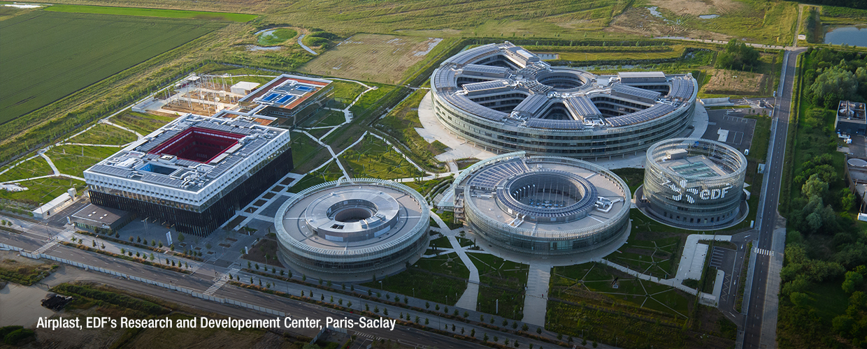 Airplast, EDFs Research and Developement Center aerial view