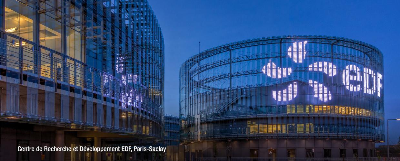 Centre de Recherche et Développement EDF, Paris-Saclay facade