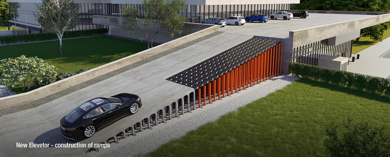 Geoplast New Elevetor construction of ramps