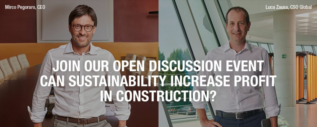 Geoplast open discussion - Can sustainability increase profit in construction
